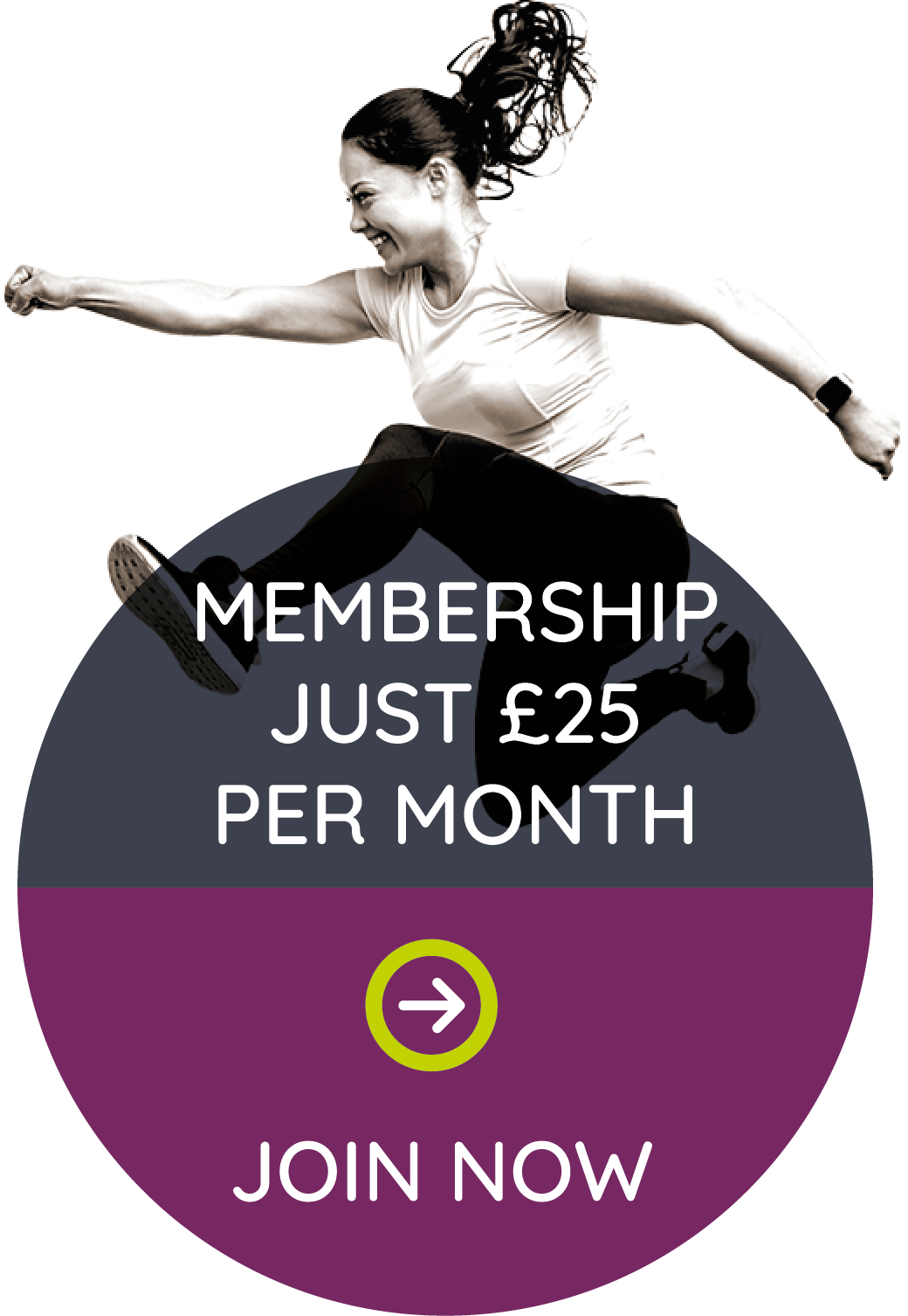 Membership just £25 per month. Join now.